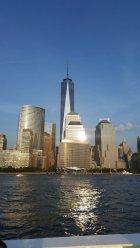 New-York-Skyline suedliches Manhattan mit One-World-Trade-Center