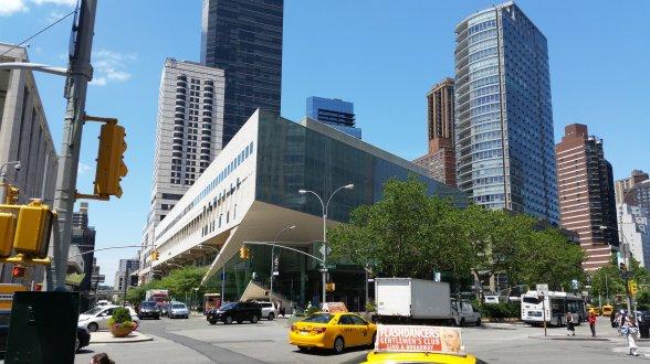 Tagungsort Juilliard-School am Lincoln-Center vom Broadway