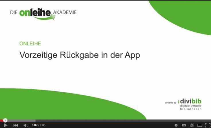 rueckgabe