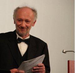Buchvorstellung am 2.6.2015 in der Musikbibliothek: Der Komponist Thomas Blomenkamp.