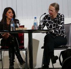 """Anlässlich der Frankfurter Buchmesse war Laksmi Pamuntjak mit """"Alle Farben rot"""" zu Gast bei uns. Moderiert hat Martina Heinschke."""