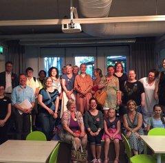 Unser Gäste beim ersten bookupDE am 21.8.2015 in der Zentralbibliothek