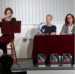 Literarischer Schnellkurs am 25.11.2016 in der Zentralbibliothek. Zu Gast bei uns waren Anna Barbara Hagin, Heike Beutel und Irmgard Himstedt.