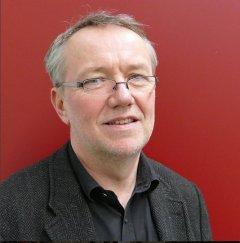 Wolfgang Klein-Richter, der Vater von Judith Stapf war am 2.2.2016 Gast in der Musikbibliothek bei Musik im Gespräch! und am Flügel.