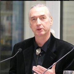 """Am 16.2.2016 war Bernd Desinger zu Gast bei """"frisch gepresst"""" im Lernstudio der Zentralbibliothek."""