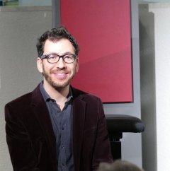 Am 5.4.2016 war der Pianist Omer Klein Gast in der Musikbibliothek.