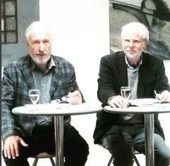 Am 25.4.2016 waren Friedemann Spicker und Jürgen Wilbert waren mit einem aphoristischsten Portrait über Friedrich Nietzsche zu Gast in der Bücherei Benrath.