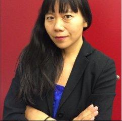 Die chinesische Autorin Xiaolu Guo ist zu Gast in der Zentralbibliothek am 03.09.2015