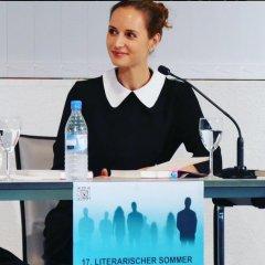 """Am 6.7.2016 war Inge Kuttner mit ihrem Buch """"Hippiesommer"""" im Rahmen der Reihe """" literarischer Sommer"""" Gast in der Zentralbibliothek."""
