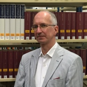 Klaus Peter (kph), Lektoratsleiter bei den Stadtbüchereien