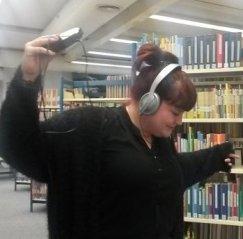 Nadine (nj), FaMI in der Zentralbibliothek