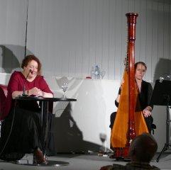Am 13. 09.2016 waren mit Anja Bilabel und Verena Volkmer Gäste in der Zentralbibliothek mit ihrem Konzerthörstück über Annette von Droste-Hülshoff