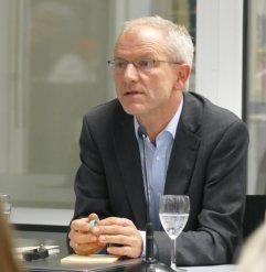 """Am 15.11.2016 war Heinrich Detering Gast in der Reihe """"Frisch gepresst"""" in der Zentralbibliothek"""