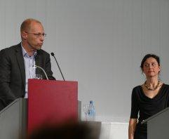 Am 16.11.2016 waren Bernhard Judex und Caroline Keufen mit dem Literarischen Schnellkurs zu Thomas Bernhard Gäste in der Zentralbibliothek.