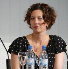 """Eva Menasse war am 5.7.2017 im Rahmen des """"18. Literarischen Sommers"""" Gast in der Zentralbibliothek."""