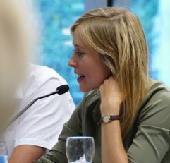 "Hannah Dübgen war am 18.7.2017 Gast bei ""Frisch gepresst"" in der Zentralbilbiothek."