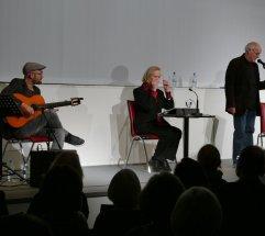 Mit dem 1. Düsseldorfer Literaturkonzerte für 2017 am 12.1. (... wie ein Tanz von Kraft um eine Mitte – Rilke und Flamenco) waren mit Peter Welk Christiane Lemm und Daniel Sommer Gast in der Zentralbiblitohek.