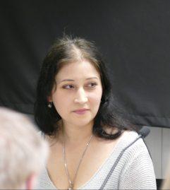 Am 16.01.2018 war Anna Galkina zu Gast in der Zentralbibliothek.