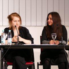 """Am 28.3.2018 waren Margarete Stokowski und Mithu Sanyal zum Thema """"Feminismus aktuell"""" zu Gast in der Zentralbibliothek."""